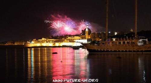 Салют на Мальте