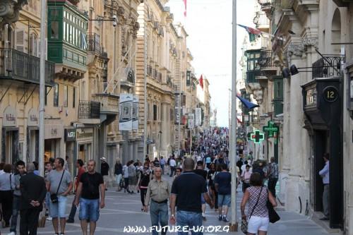 Центр Валетты. Мальта